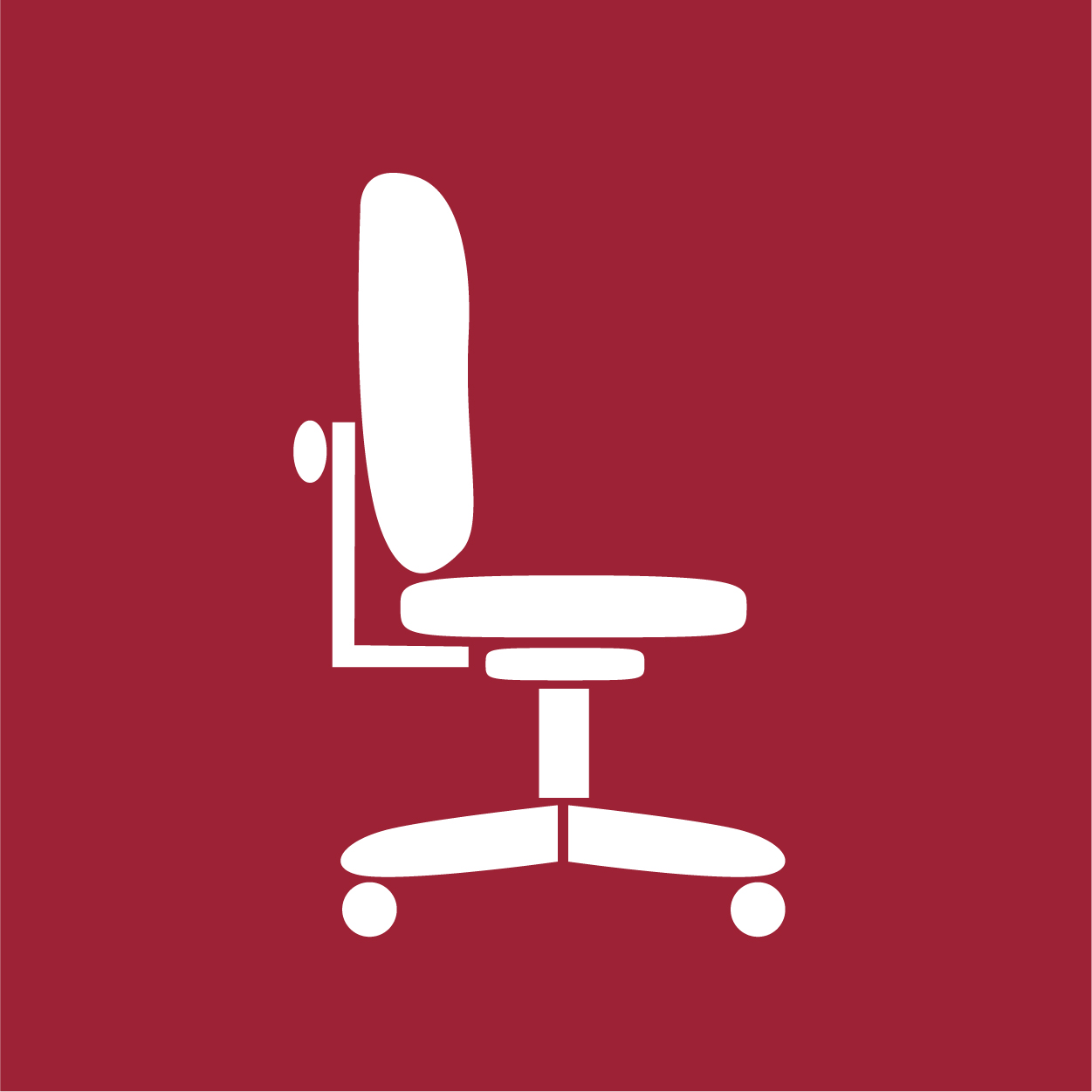 icon of office chair