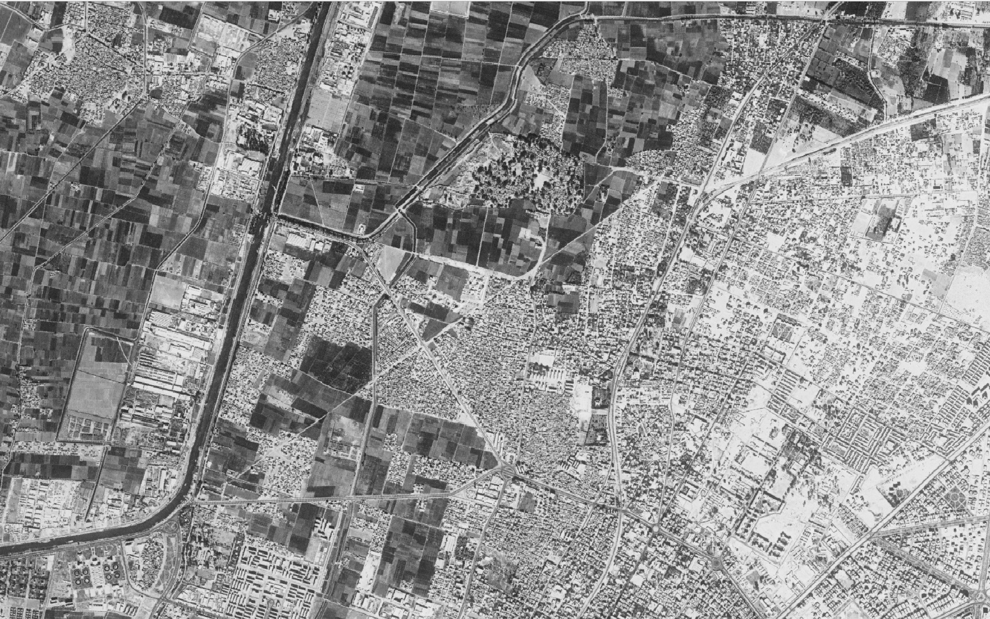 CORONA imagery of Heliopolis in Egypt