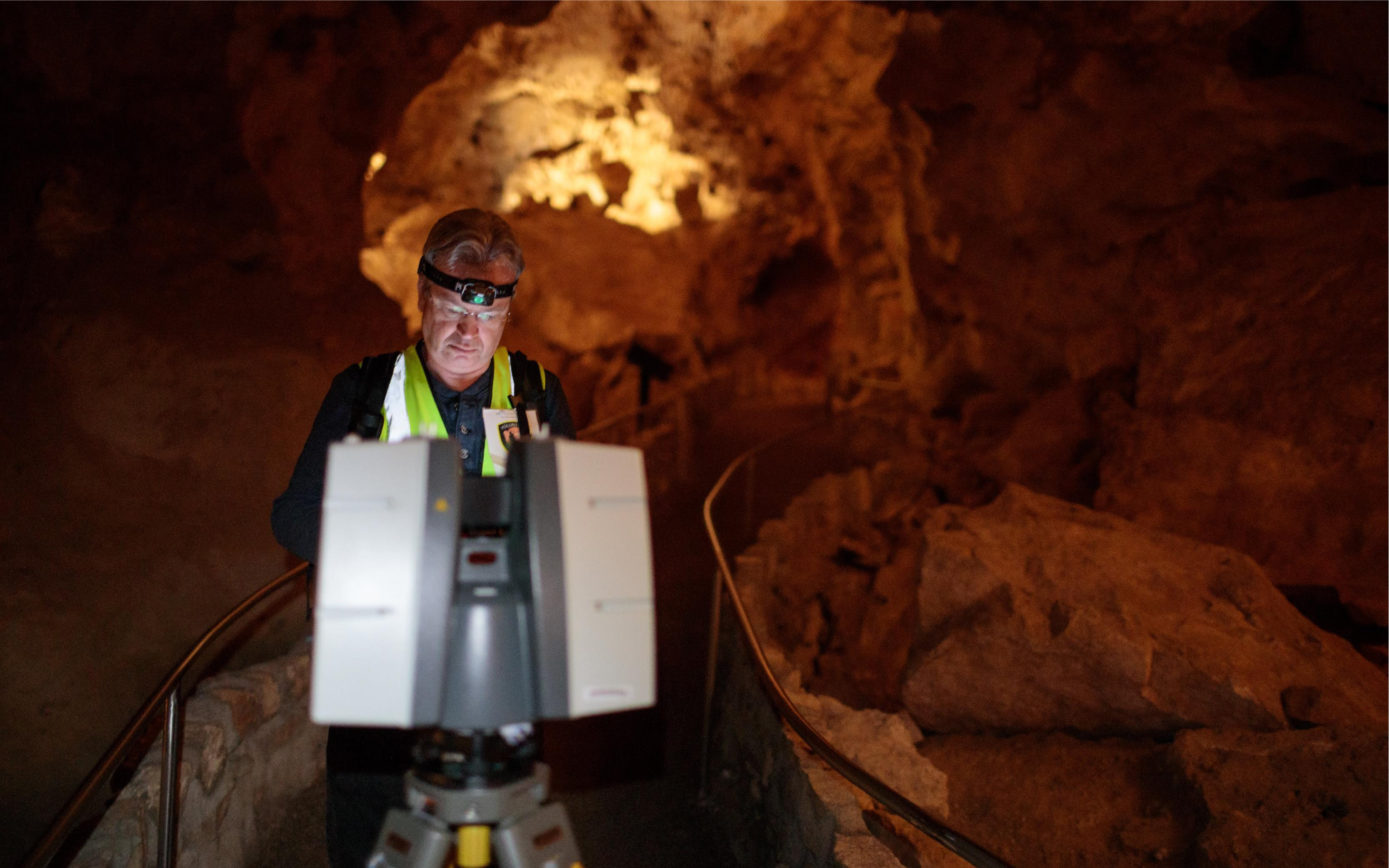 Creating a Digital Map, and a Cultural History, of Carlsbad Cavern